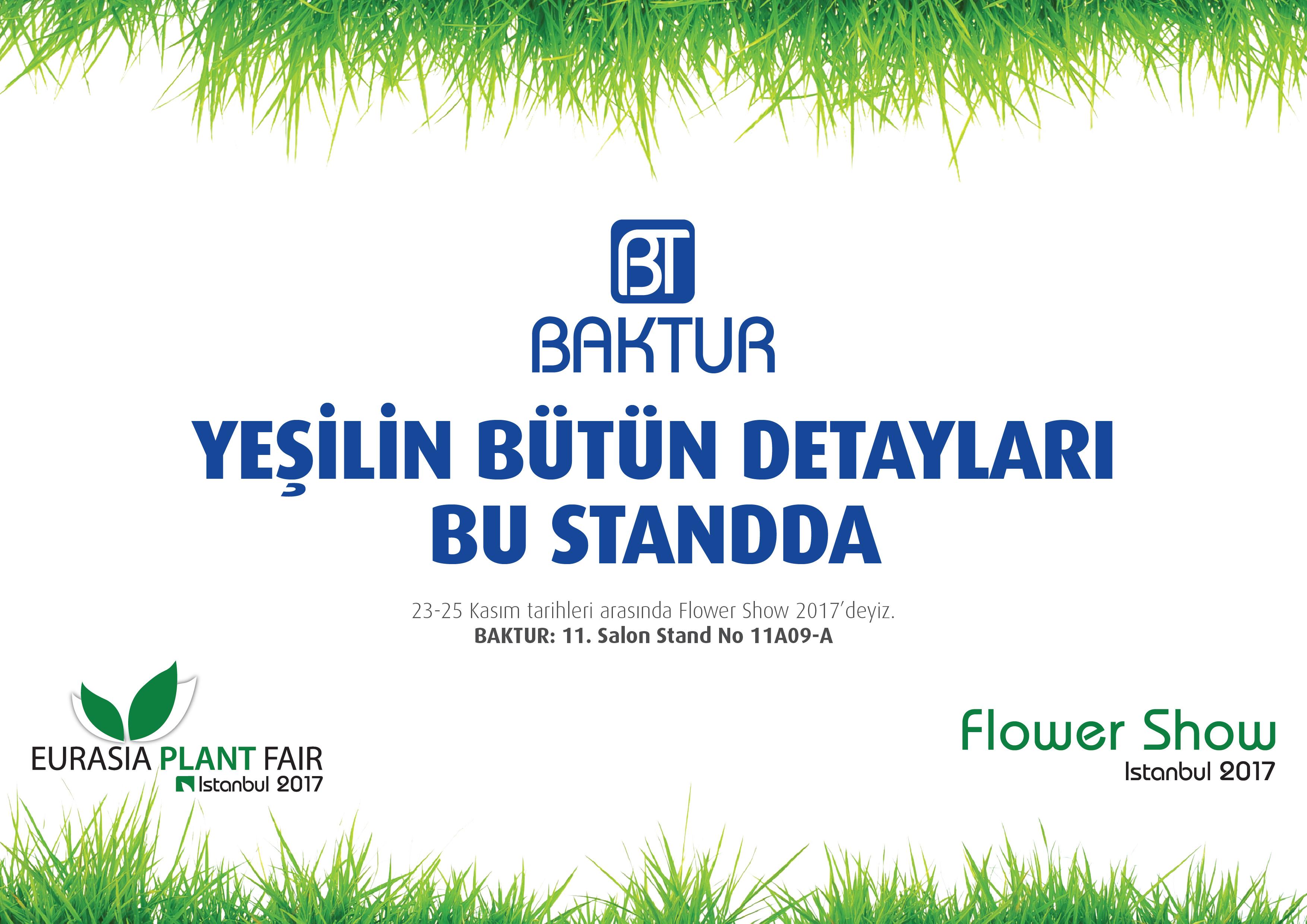 Flower Show Istanbul 2017 Fuar Davetiyesi